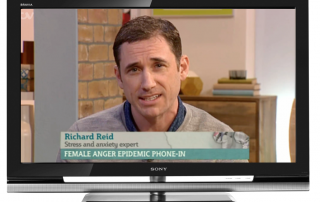 Richard Reid on ITV This Morning