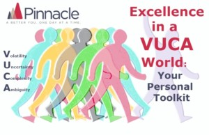 Excellence in a VUCA World: Your personal toolkit @ The Jam Tree,