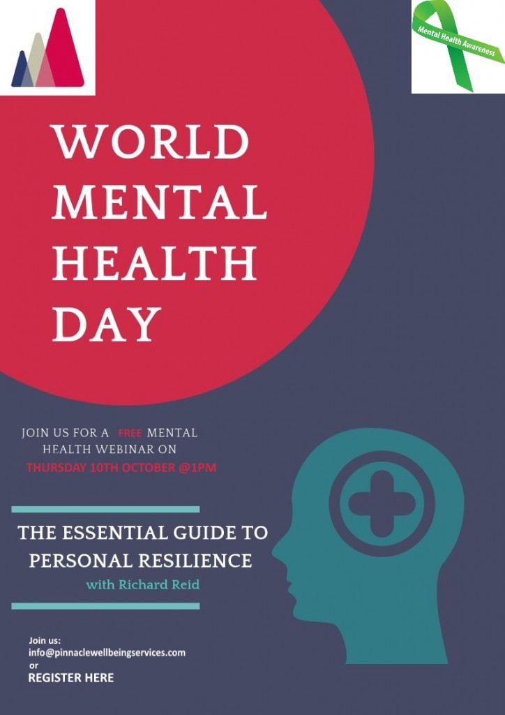 Free webinar for World Mental Health Day